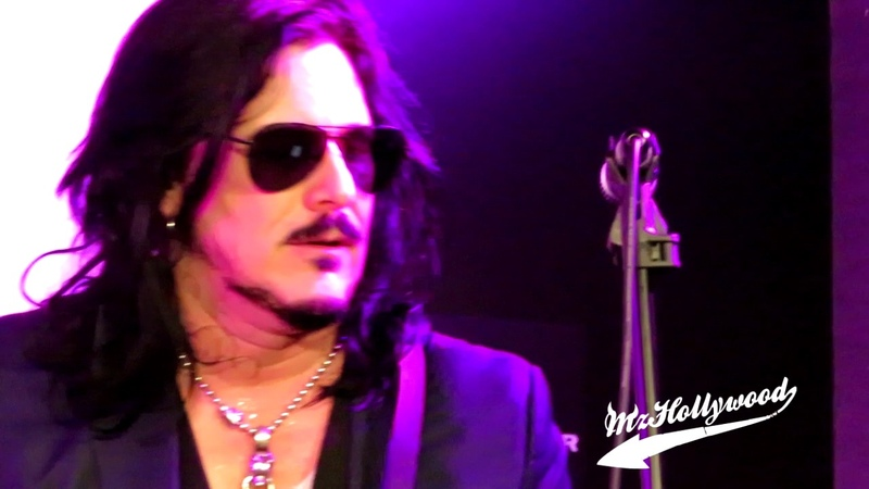 NAMM 2017 Gilby Clarke Knockin on Heaven's Door LIVE at VOX Booth
