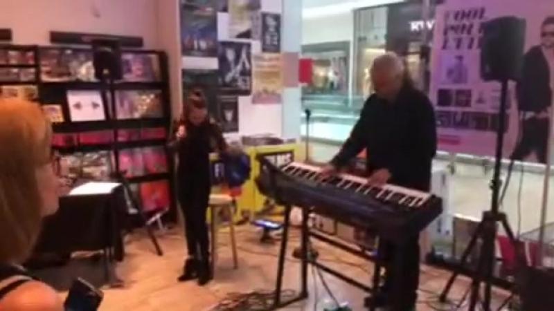 Artiste live au magasin