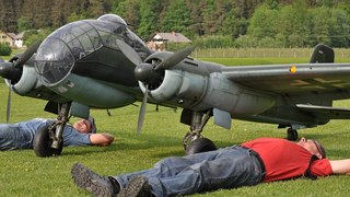 Giant Rc Junkers JU-188 - RollOut