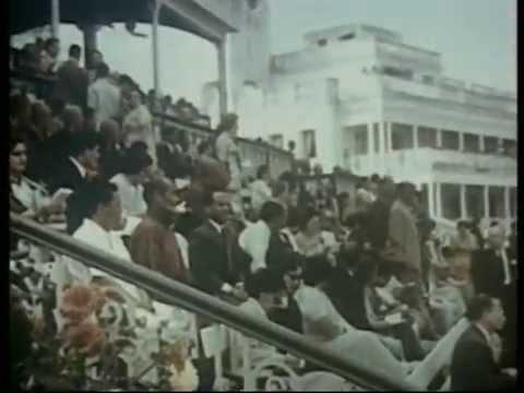 བསྟན་འཛིན་རྒྱ་མཚོ། རྒྱ་གར། བོད་སྐད་གློག་བརྙན བོད་ཀྱི་བརྙན་འཕྲིན 1956-1957 第十四世达赖喇嘛丹增嘉措 1956-1957 藏语纪录片 纪录电影 西藏电视台