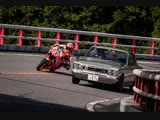 Marc Márquez Races Through The History of Japanese Motoring by RedBull
