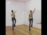 Pilkina Fit. Black n Lemon jumpsuit