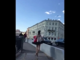 Питер и балерина - ничего необычного :)