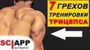 7 Грехов Тренировки Трицепса Частые Ошибки Исправь и Накачай Большой Трицепс Джефф Кавальер