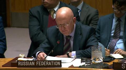 Василий Небензя: необходимо вести дело к прекращению незаконной оккупации сирийской территории