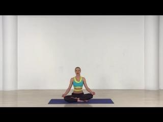 Занятие для бодрости духа и сосредоточенности в традиции хатха-йоги