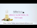 AVON Nutra Effectsl Масло для лица