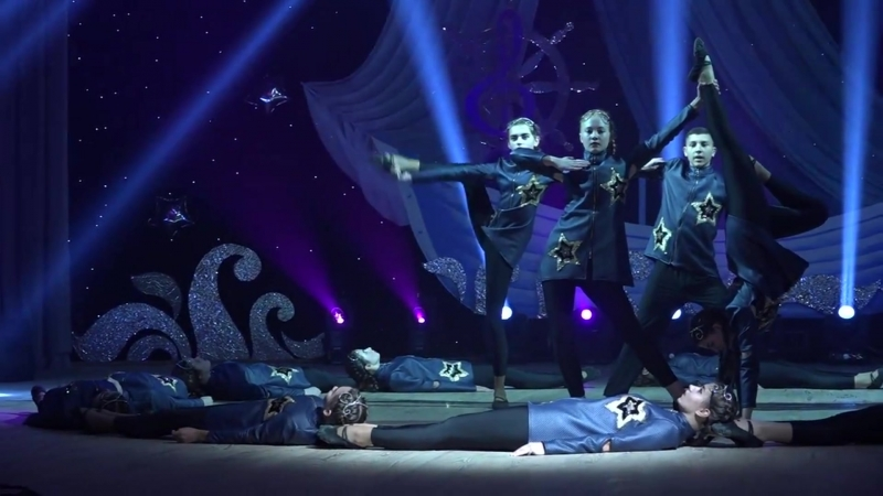 Grand Dance в конкурсе (Срібне джерельце) Танец ,,Время
