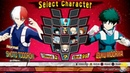 My Hero Academia One's Justice Izuku Midoriya Vs Shoto Todoroki Dabi Vs All Might Gameplay