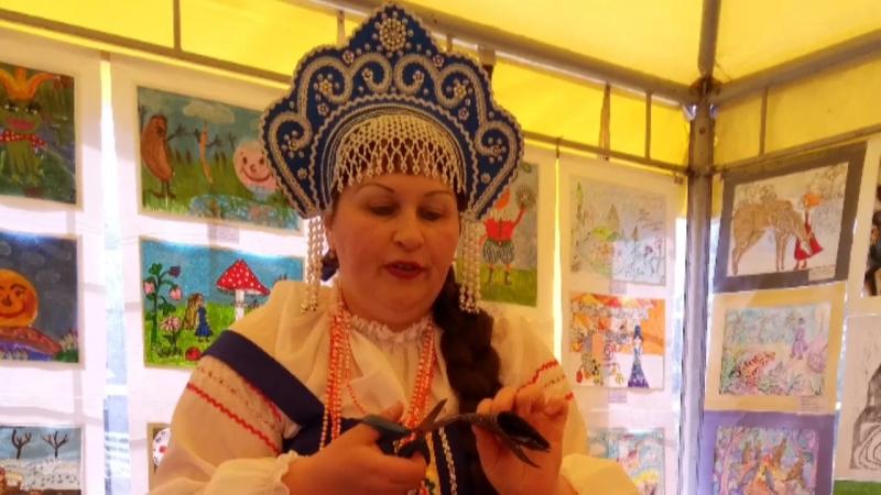 Мастер-класс Куковякиной Н.В. Баба-Яга на фестивале VI Сказки мира 2018
