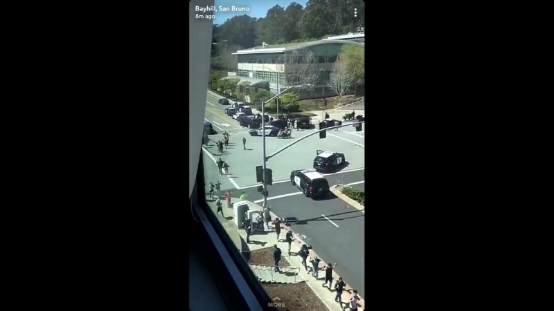 Стрельба в штаб-квартире YouTube, район оцеплен