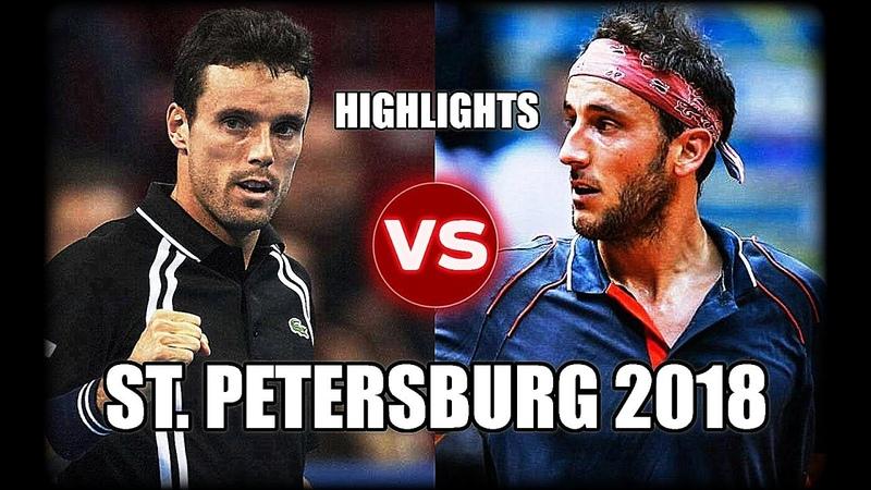 Roberto Bautista Agut vs Luca Vanni ST. PETERSBURG 2018 Highlights