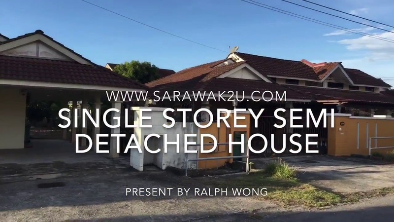 Single Storey Semi Detached House For Sale ( Permy, Miri )