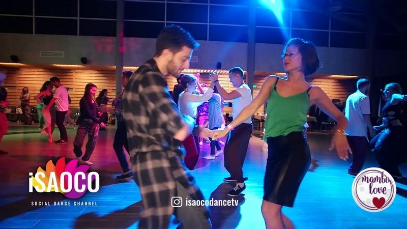 Sergey Gazaryan and Anna Zvyagina Salsa Dancing in Mambolove, Sunday 10.06.2018