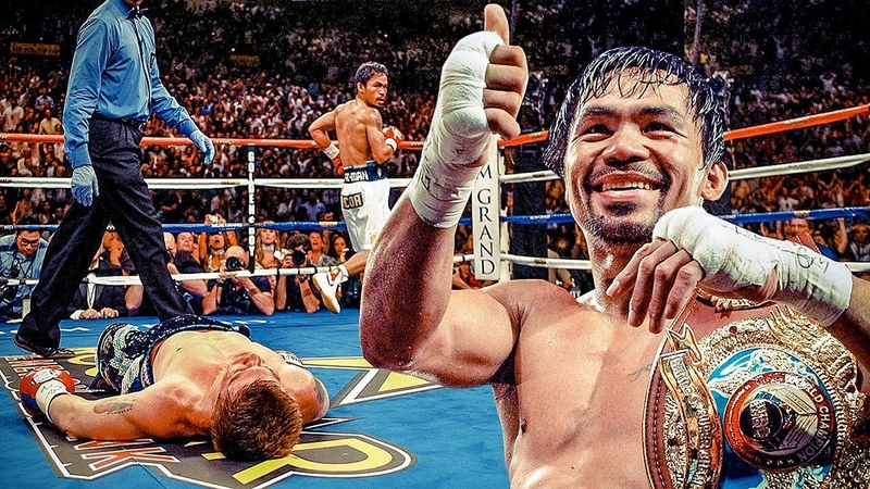 Manny Pacquiao Highlights (FIRE RAPID Moments)
