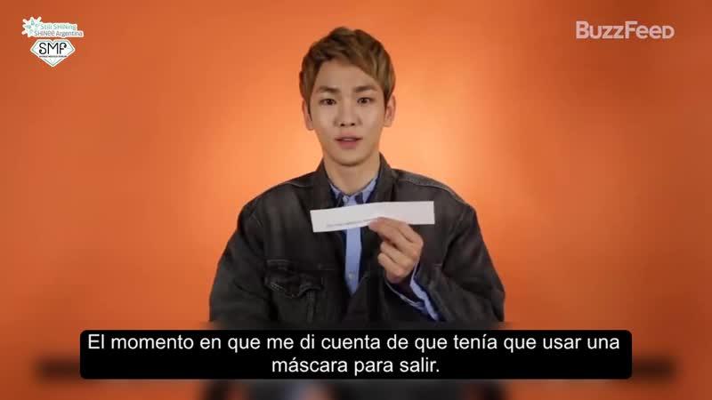 [ Subtitulos en Español ] Buzzfeed - Key de SHINee nos cuenta sobre sus primeras veces