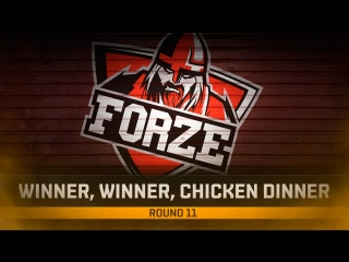 forZe take the victory in the first game of the day!