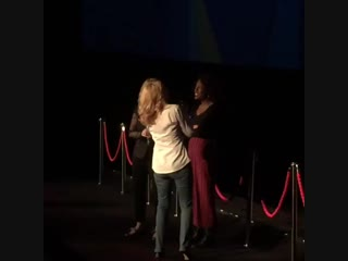 Patricia Clarkson — London Film Festival. Out of blue