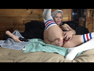 LilySkye rubber fist and screw toy Double Anal Pussy Fisting Dildo Prolapse Blowjob Outdoor Huge Dildo Gape