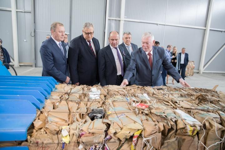 В Карачаево-Черкесии открылся современный завод для хранения и сортировки ТБО