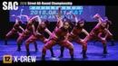 12 X-CREW   중고등부 은상팀 HipHop 힙합   서종예 스트릿 올라운드 챔피언쉽 2018 Filmed by lEtudel