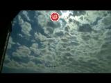 В эти минуты над Москвой авиация репетирует свою часть Парада Победы
