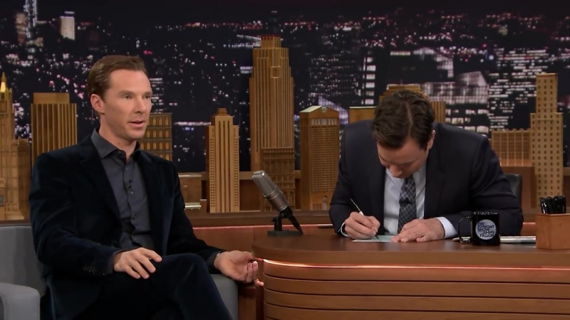 Mad Lib Theater with Benedict Cumberbatch