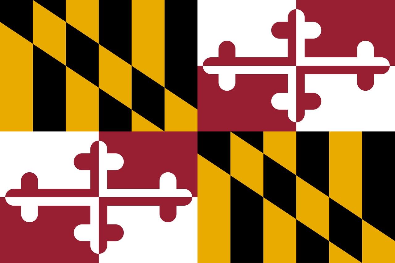 Флаг Мэриленд