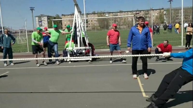 Спартакиада 2018 Перетягивание каната 1-2 место ЦПГ-2 - ЦЭЭО-1