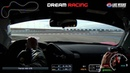 FWD Ferrari F488 GTB Experience on Track at Dream Racing Las Vegas Onboard with Telemetry.