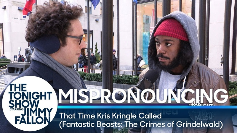 Mispronouncing That Time Kris Kringle Called Fantastic Beasts The Crimes of Grindelwald