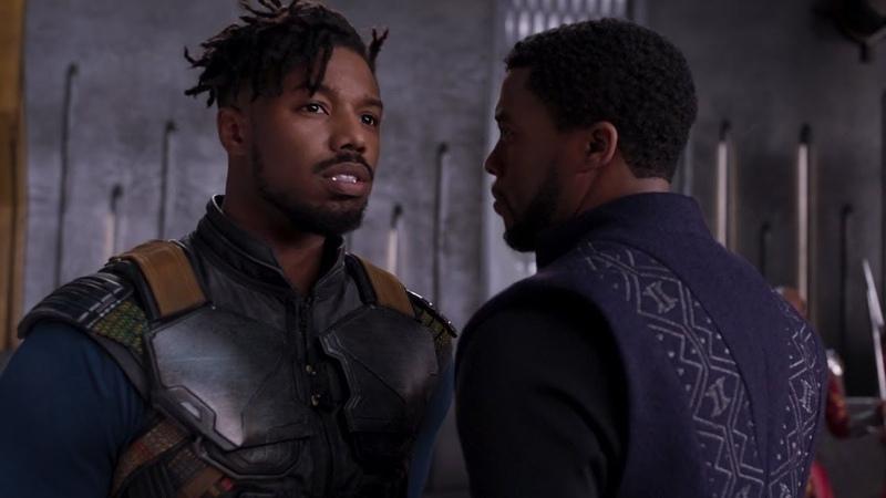 Киллмонгер бросает вызов Т'Чалле, Чёрная Пантера(Black Panther)