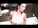 Denise Milani non-nude erotic super model big tits sexy girl Playboy эротика большие сиськи 6 размер - Rain Shower