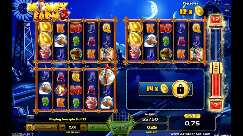 GameArt slot Money Farm 2