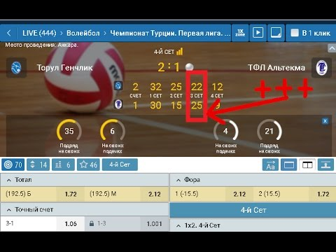 Платная выигрышная стратегия ставок на волейбол бесплатно