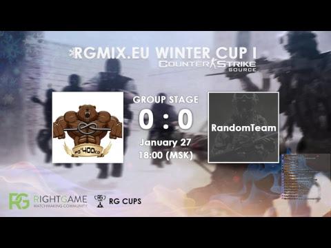 RGMIX.eu Winter Cup 1 [ṕǥ^400kĝ vs RandomTeam] Group A