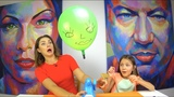 ЗАПУСТИ ГОЛОВУ ЧЕЛЛЕНДЖ Buddy's Balloon Launch Game Challenge Игра Для Детей Вики Шоу