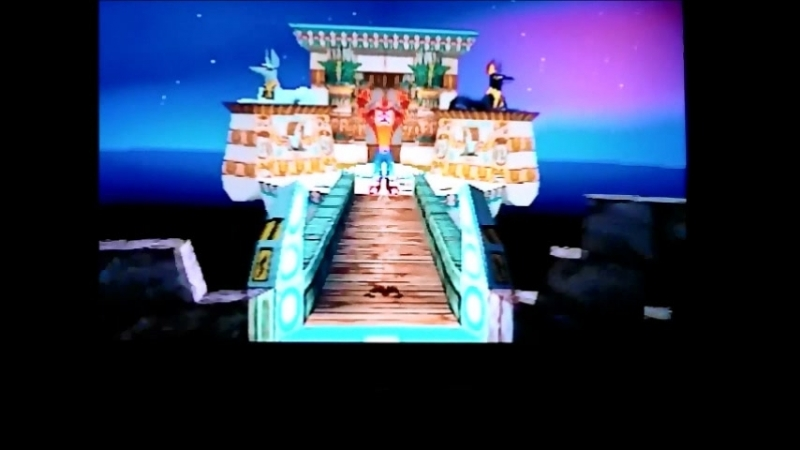 Crash Bandicoot 3:Warped (NTSC-J). Glitch in warproom.