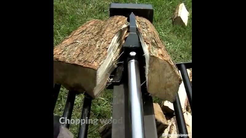 This portable machine will have you cutting firewood in no time