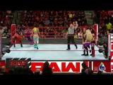#video@rubyriottdaily Sasha Banks, Bayley &amp Ember Moon vs The Riott Squad (Bayley attacks Sasha) WWE Raw June. 25, 2018