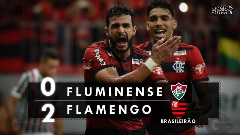 Fluminense 0 x 2 Flamengo - Melhores Momentos (HD 60fps) Brasileirão 07/06/2018