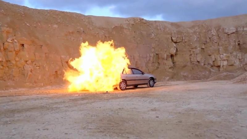 Бензин опаснее пропана - доказано!