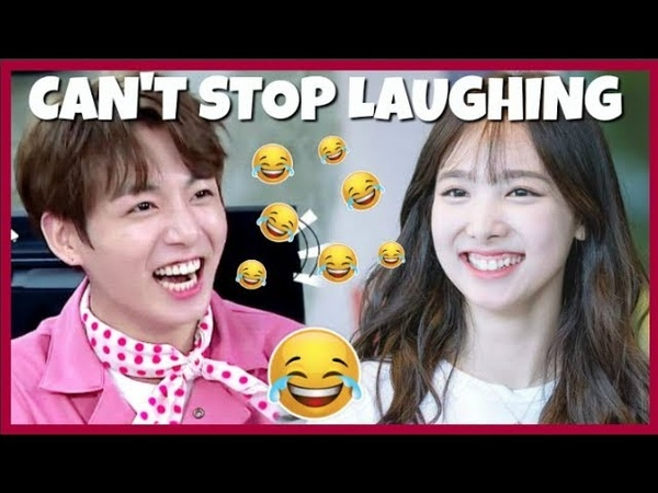 KPOP IDOLS : CAN'T STOP LAUGHING (FUNNY) 1 😂 - BTS BLACKPINK TWICE EXO