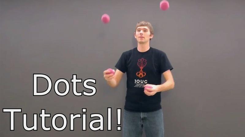 IJA Ball Juggling Tutorial - Dots Patterns - Mike Moore - Patreon Sponsored