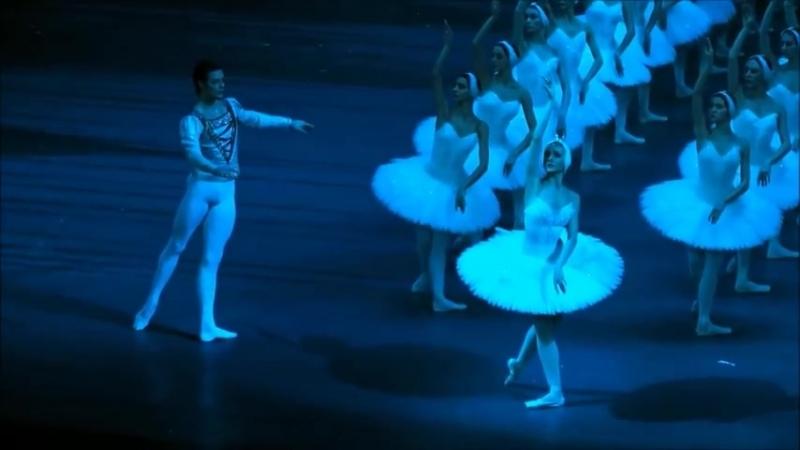 14.01.2018 Bolshoi, Swan Lake 1, Odile - Yulia Stepanova, Prince Siegfried - Jacopo Tissi, The Evil Genius - Mikhail Kryuchkov