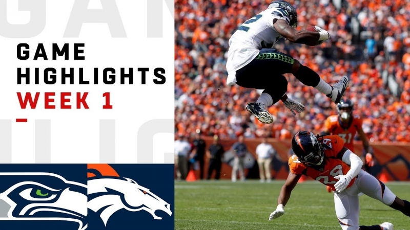 Seahawks vs. Broncos Week 1 Highlights 2018