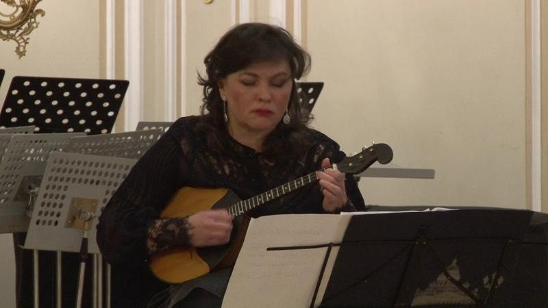 С. Слонимский - «Романтическое рондо с плясовым финалом» для домры и фортепиано