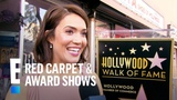 Mandy Moore Receives Star on Hollywood Walk of Fame E! Red Carpet &amp Award Shows