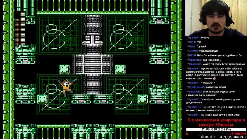 Brick_Man - 1001 Реквест [155] - Rockman 2 Gray Zone (NES)
