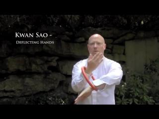 Вин Чун. Упражнения с ротанговым кольцом.